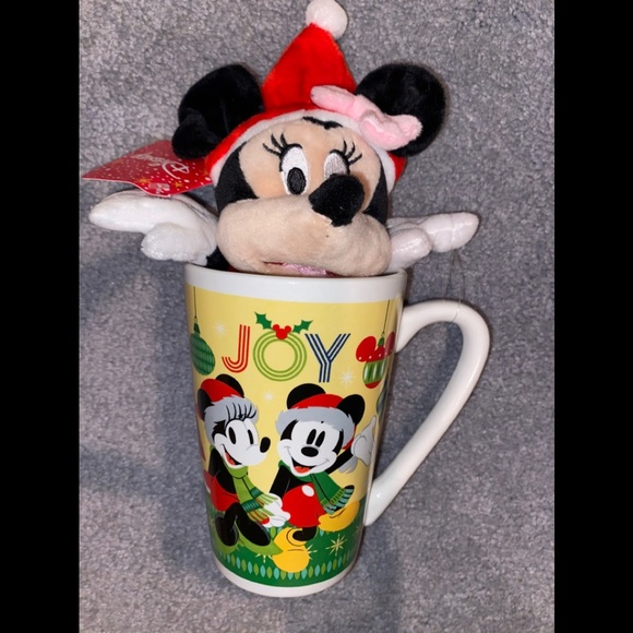 Minnie Mouse Holiday Joy Mug & Plush Gift